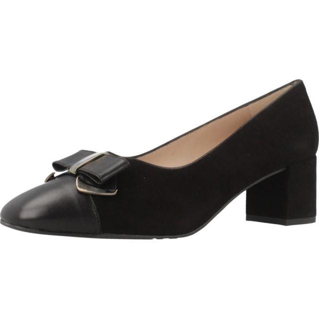 Sitgetana Mocassins et chaussures bateau femme 30407, Noir