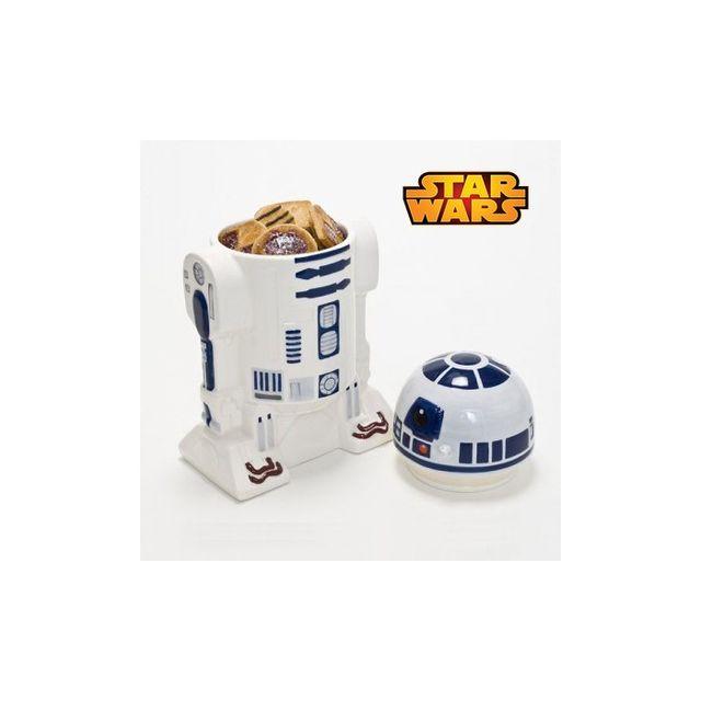 Kas Design Boîte à Gâteaux R2D2 Star Wars, Cadeau Geek Design