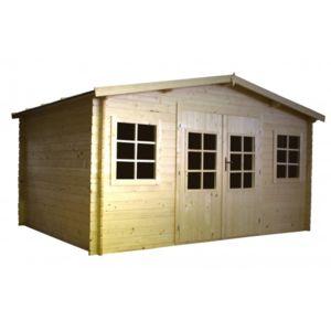 norrwood abri de jardin emboite pas cher achat vente abris en bois rueducommerce. Black Bedroom Furniture Sets. Home Design Ideas