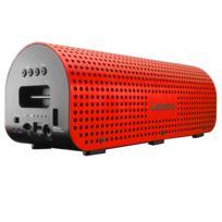 LENCO - GRID-7 - Enceinte Nomade - Bluetooth - NFC - 11W - Micro USB - Rouge