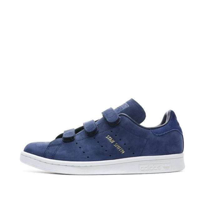 Stan Smith Baskets à scratchs Marine Femme Multicouleur 42