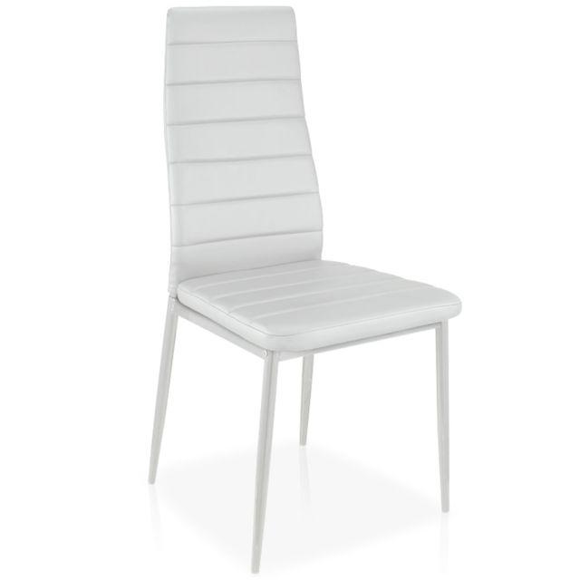 Menzzopremium - Lot de 8 chaises Stratus