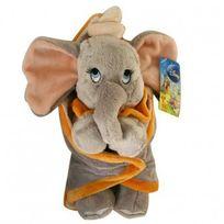 Disney - Peluche : Dumbo et sa Couverture - 25 cm