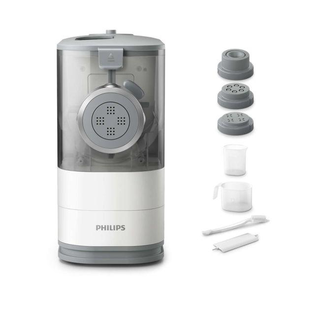 Philips Machine à pâtes et nouilles - Hr2345_19 - Blanc/Gris clair