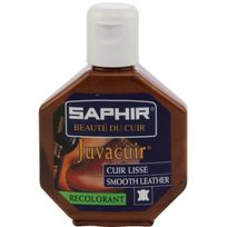 Saphir - Recolorant teinture Juvacuir 75ml Marron moyen