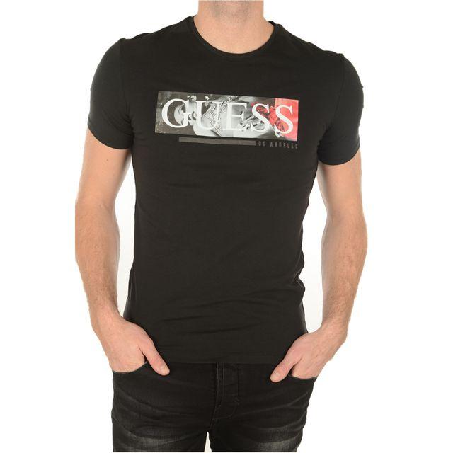 3a7b7e206704b8 Guess - Tee-shirts Jeans Homme M72i28j1300 - pas cher Achat   Vente Tee  shirt homme - RueDuCommerce