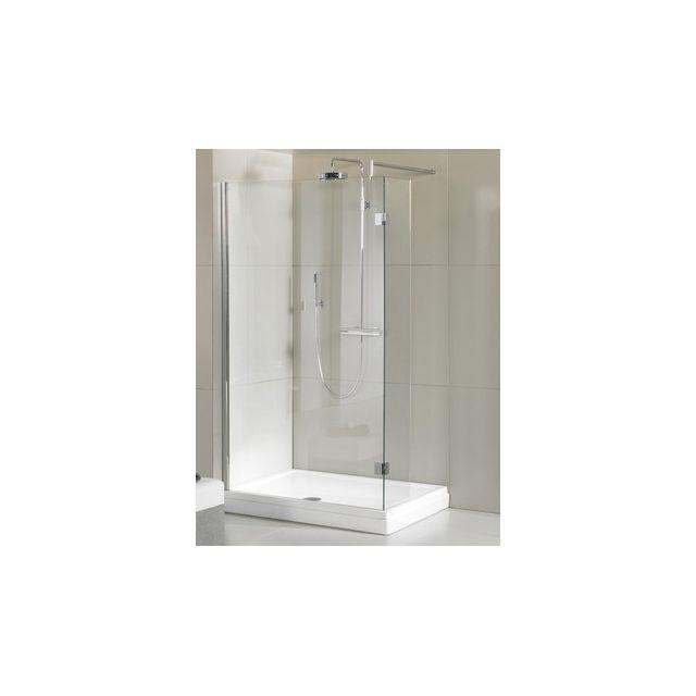 riho ecran de bain walk in douche polar p201 100x90x200 cm en verre clair pas cher achat. Black Bedroom Furniture Sets. Home Design Ideas