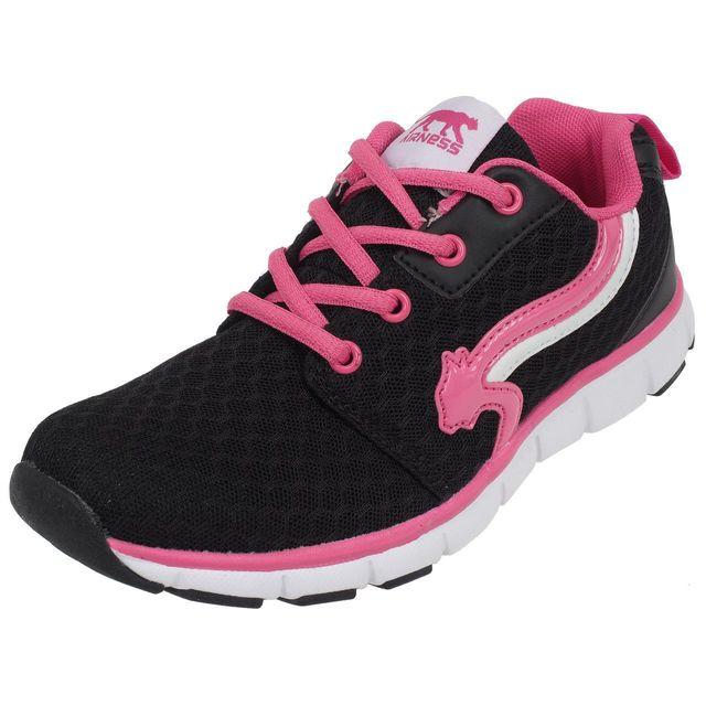 Airness Chaussures running mode Hunt noir/rse girl Noir 21261
