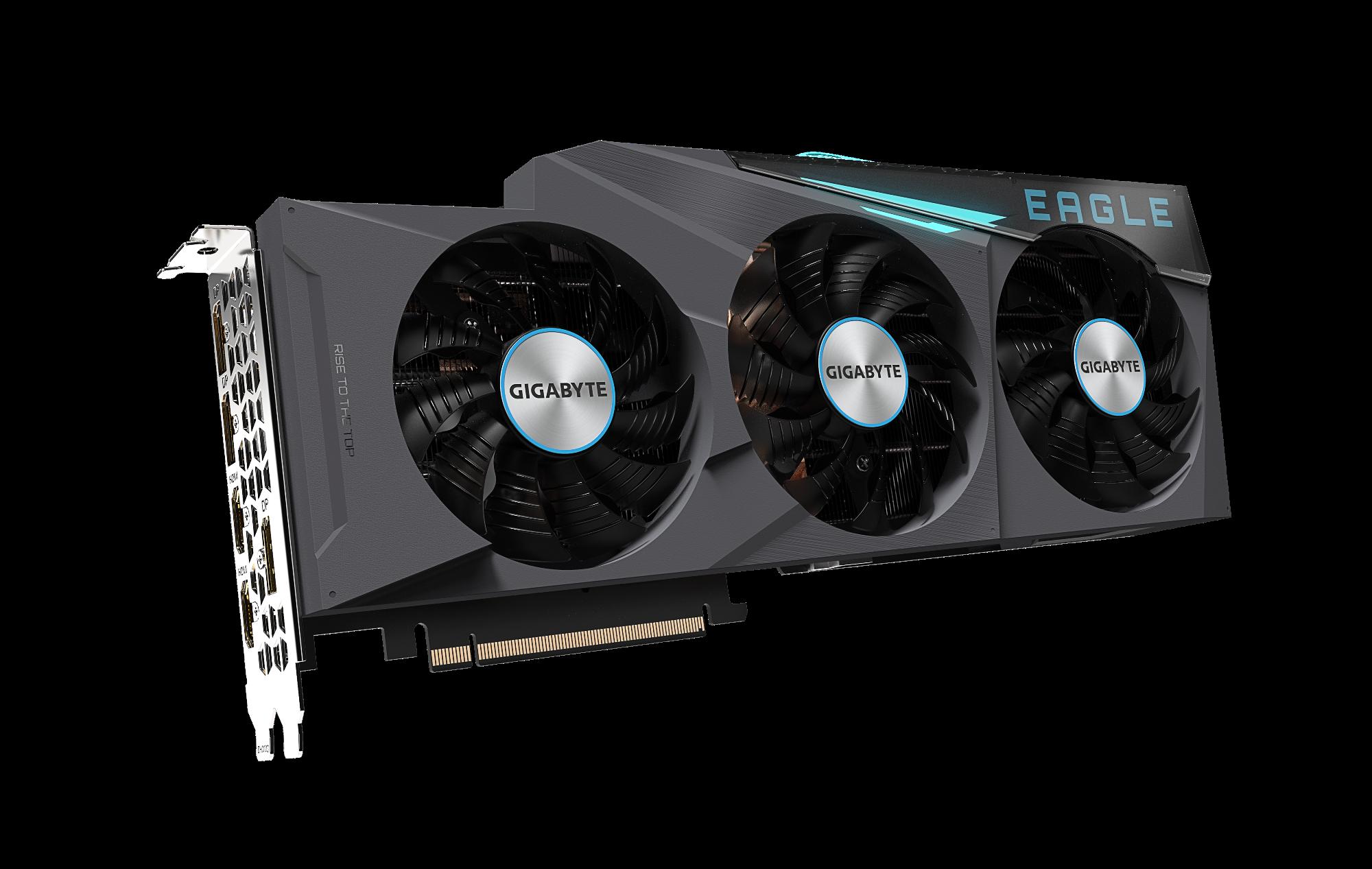 Carte graphique GeForce RTX 3080 10 GB Eagle OC Gigabyte