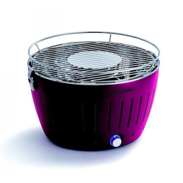 Lotusgrill - Barbecue de table Grill au Charbon Modèle 34 Cm Prune
