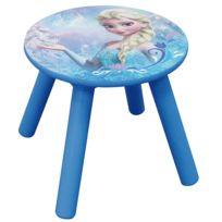 Jemini - Tabouret bois Elsa La Reine des Neiges Disney
