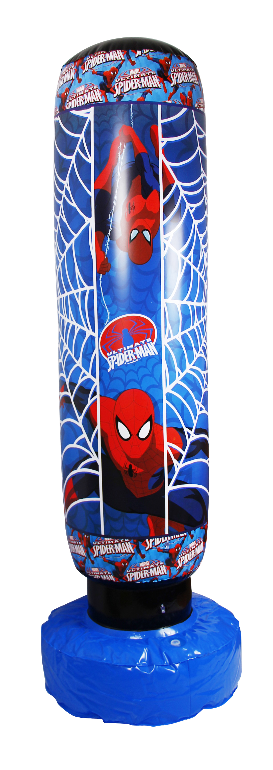 Marvel Spiderman Ultimate Sac Gonflable De Boxe De Boxe De 33cm Gonflable