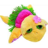 Lil Peepers - Suki . Pebbles Hawaiian Sandy Coloured & Pink Shell With Grass Skirt On 14016 Small
