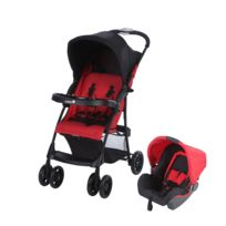 """SAFETY 1ST - Poussette combinée duo """"Taly"""" rouge"""