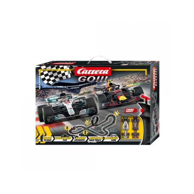 CARRERA Circuit voitures Coffret Max Speed - Dès 6 ans - GO!!! 62484