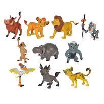 Simba - roi lion coffret 10 figurines 8cm - 109318725