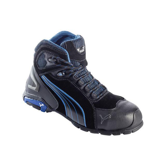 Chaussures de sécurité hautes Rio Black Mid S3 SRC P44 SAFETY 632250 44