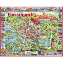White Mountain Puzzles - Puzzle 1000 pièces - Portsmouth, New Hampshire, Usa