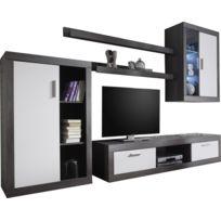 651fbf3884a26a meuble tv chene gris - Achat meuble tv chene gris pas cher - Rue du ...