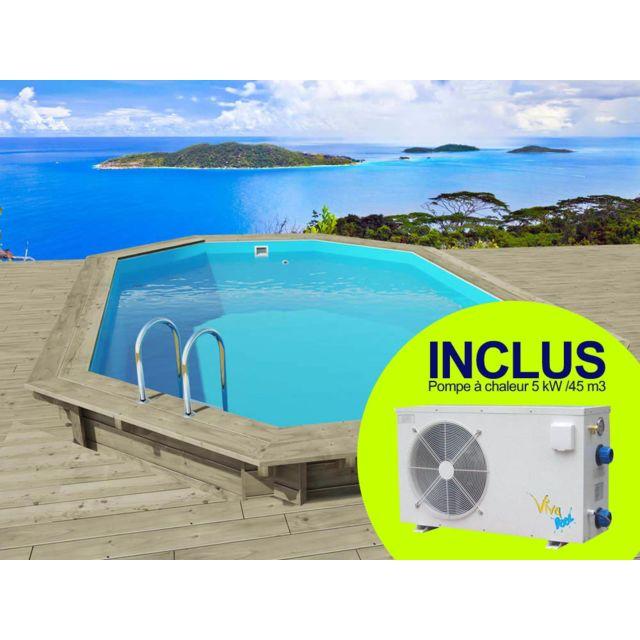 habitat et jardin piscine bois havana x x m pas cher achat vente piscines. Black Bedroom Furniture Sets. Home Design Ideas
