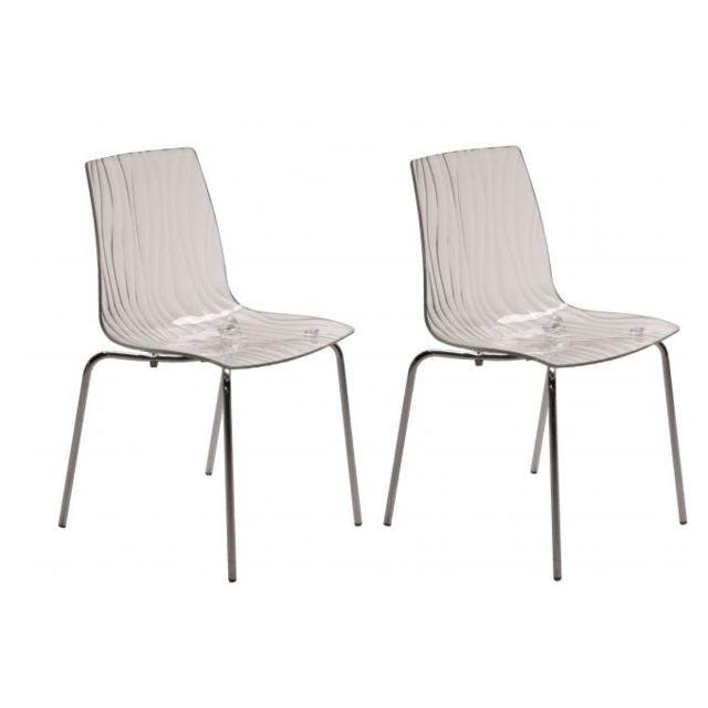 Design 2 Olympie Lot Chaises de Transparentes WH2IEDY9