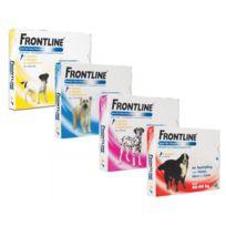Frontline - Spot On soin antiparasitaire pour chiens 40/60 kg Boîte 4 Pipettes
