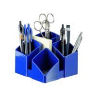 Han - 17450-14 Pot À Crayon Scala Avec 4 Compartiments 125 X 100 X 125 Mm BLEU/NOIR