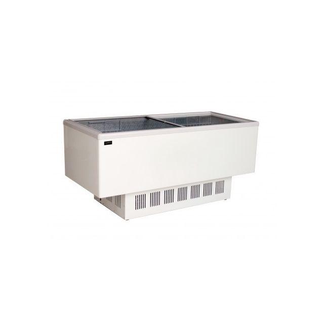 Combisteel Congelateur Vitré Supermarché R290 - 526 L