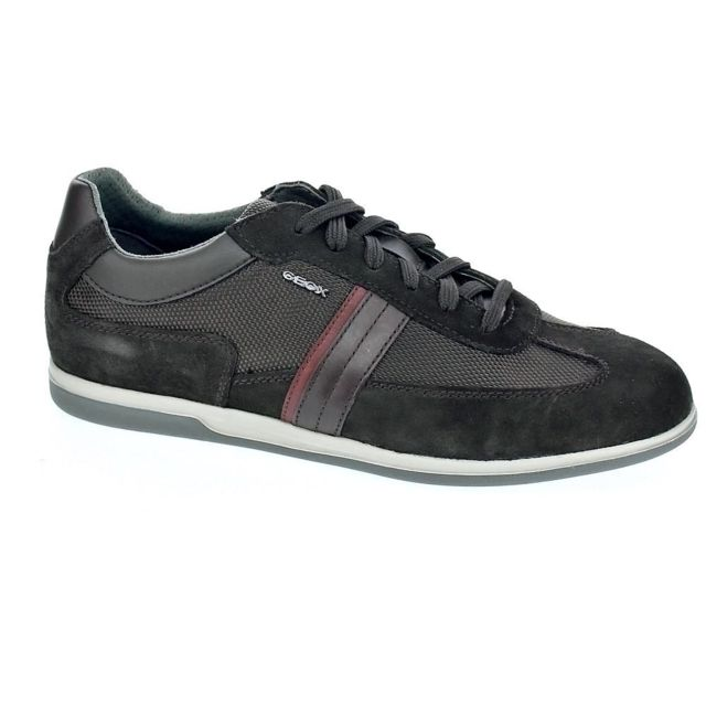Geox - Chaussures Homme Chaussures a lacets modele Renan Marron - 43 ... b9122bc8b220