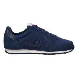 super popular 918f3 17031 Nike - Chaussures Nike Genicco bleu blanc femme