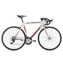 KS CYCLING - Vélo de course 28'' Piccadilly blanc TC 55 cm