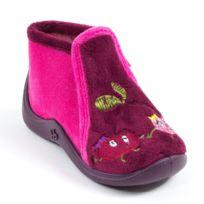 Babybotte - Chaussons à fermeture fille Majik violet