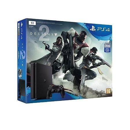 Pack PS4 1 To Black + Destiny 2