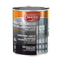 Owatrol - Peinture décorative - antirouille - blanc - 2.5 L