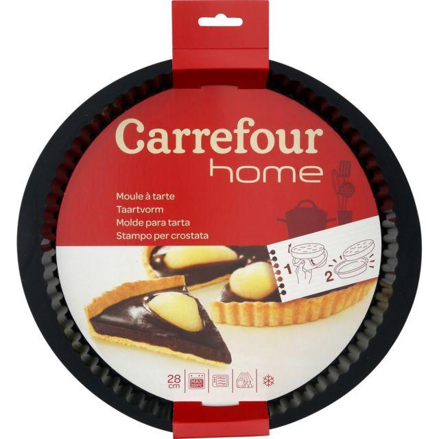 Carrefour Home Moule à Tarte En Silicone Pas Cher Achat Vente
