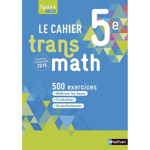 Transmath 5eme Cahier De L Eleve