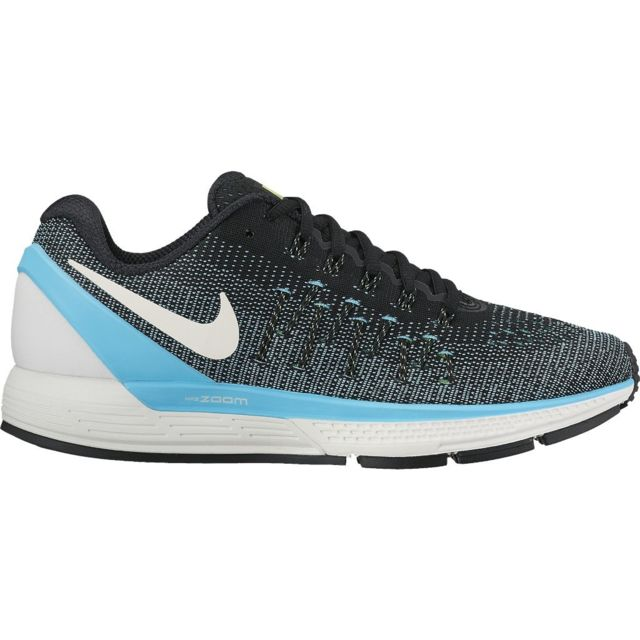 low priced 29b2e 904ed Nike - Nike Air Zoom Odyssey 2 Noire Et Bleue chaussure running nike femme