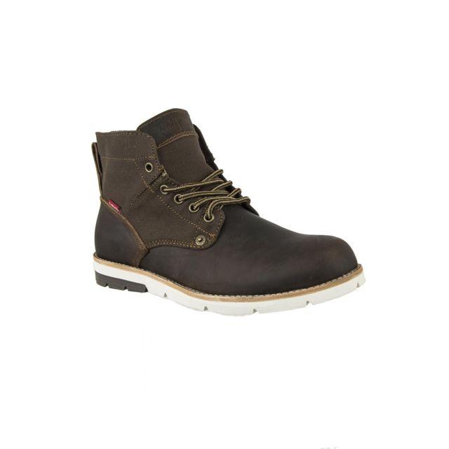 ac6a775943a70 Levi s - Chaussures ville levis 225129 jax marron 43 - pas cher Achat    Vente Chaussures de ville homme - RueDuCommerce