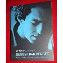 Beuscher - Partition Berger par Berger L'intégrale volume 2 - piano voix guitare