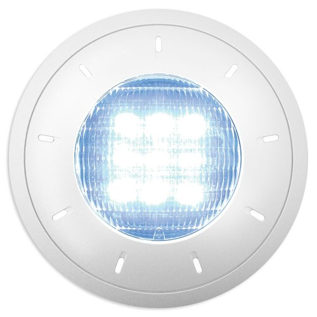 Extra Led Center Plat Blanc 21w Piscine Lampe O'clair 5R34ALj