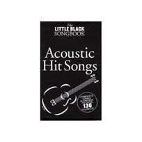 Wise Publications - The Little Black Book of Songbook of Acoustic Hits
