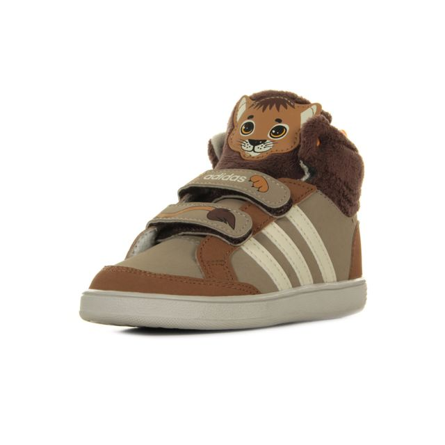 0e4ca751b04f4 Adidas Neo - Hoops Animal Cmf Mid - pas cher Achat   Vente ...