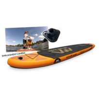 Stand up paddle gonflable Fusion + Leash