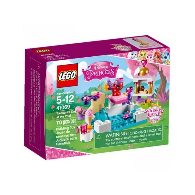 Soldes lego 41069 la journee a la piscine de tresor r for Journee piscine