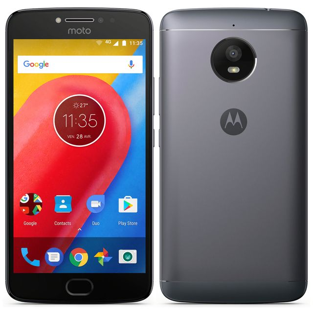 motorola moto e4 plus gris pas cher achat vente smartphone classique android rueducommerce. Black Bedroom Furniture Sets. Home Design Ideas
