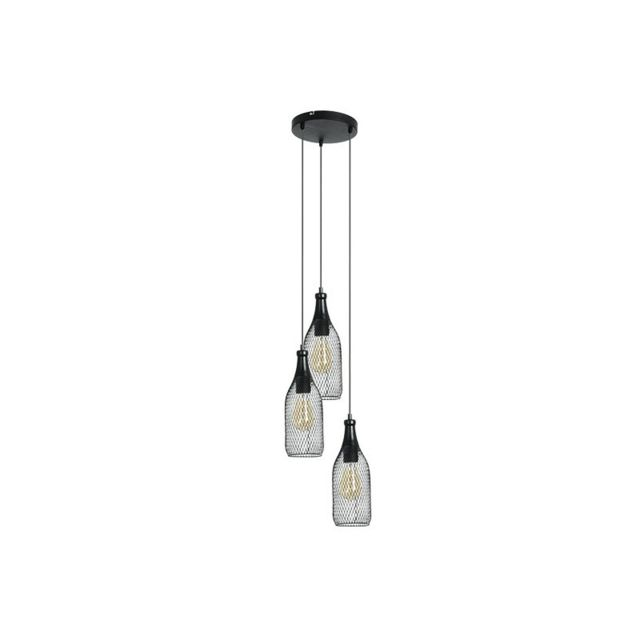 millumine luminaire industriel highlight 3 lampes. Black Bedroom Furniture Sets. Home Design Ideas