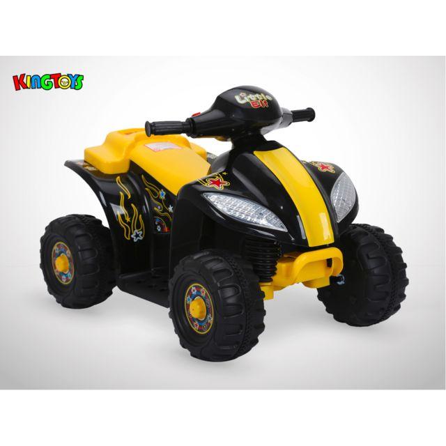 Kingtoys Quad électrique enfant - Varox 16W - Noir