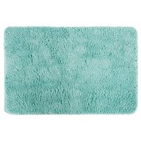 tapis microfibre salle de bain 60x90cm vert deau - Tapis Vert D Eau