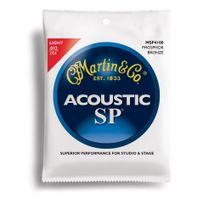 Martin - Jeu de cordes Guitare acoustique 4100 Phosphor Bronze Light