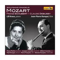 Horizon - Sonate Kv 454, Quintette Kv 452 Sonatine Op. Posth. 137 N 3 D. 408 Syrinx pour flûte seule